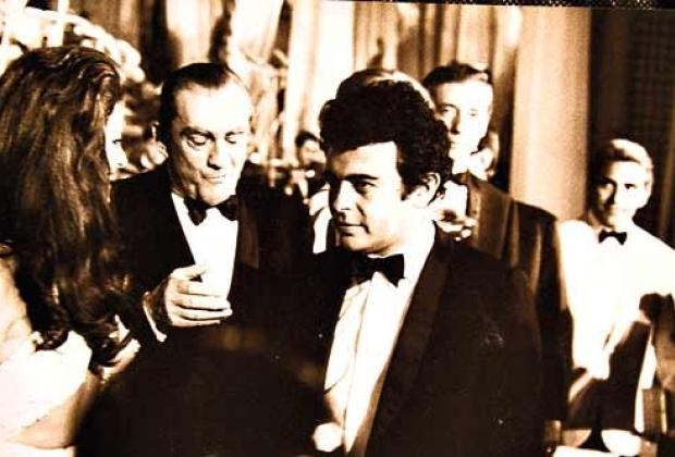 Glauber e Visconti, em Cannes.